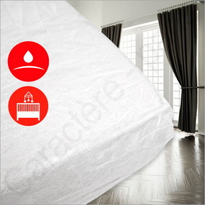 Funda protectora de colch n impermeable para camas de - Funda protectora colchon ...