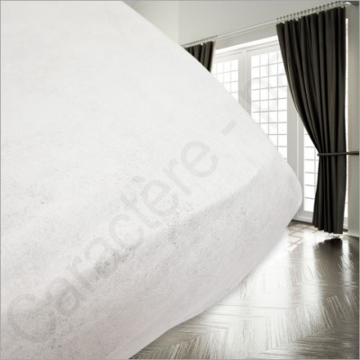 Drap housse jetable al se non imperm able for Protege matelas jetable